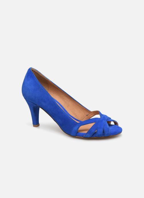 Escarpins Georgia Rose Capiloute Bleu vue détail/paire