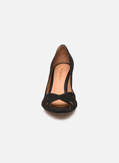 Escarpins Georgia Rose Capiloute Noir vue portées chaussures