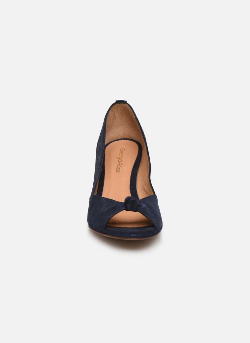 Escarpins Georgia Rose Colisa Bleu vue portées chaussures