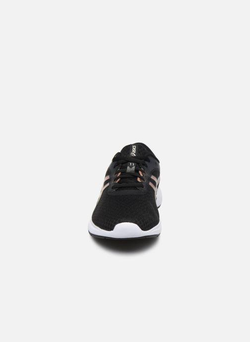 Chaussures de sport Asics Patriot 11 Noir vue portées chaussures
