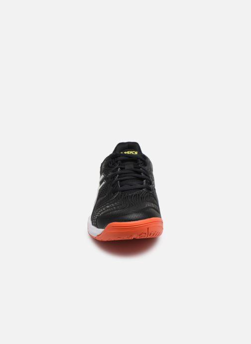 Chaussures de sport Asics Gel-Dedicate 6 Noir vue portées chaussures
