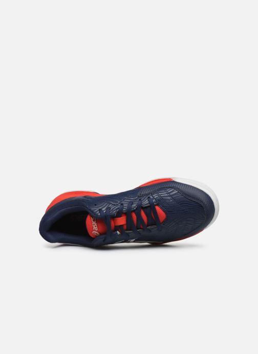 Zapatillas de deporte Asics Gel-Dedicate 6 Rojo vista lateral izquierda