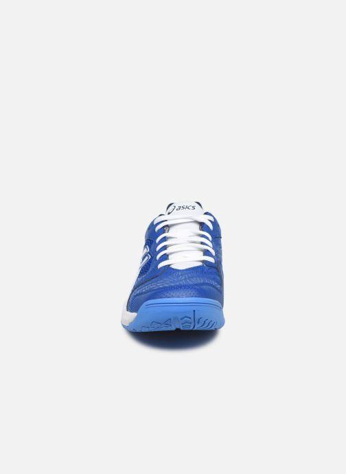 Chaussures de sport Asics Gel-Dedicate 6 Bleu vue portées chaussures