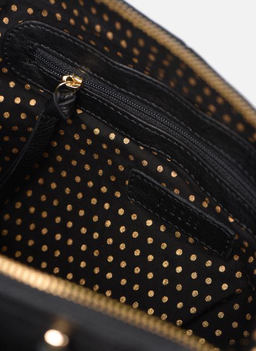 Handtassen Pieces NOMA LEATHER DAILY Zwart achterkant