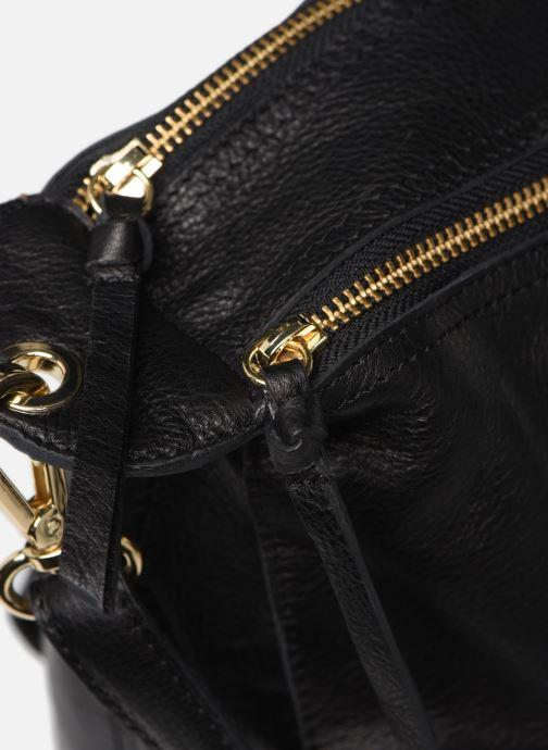 Handtassen Pieces NOMA LEATHER DAILY Zwart links