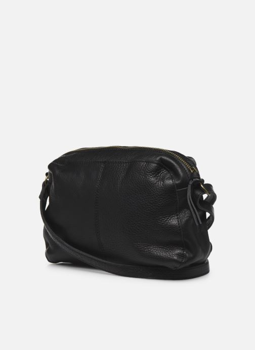 Sacs à main Pieces NEDJA LEATHER CROSS BODY Noir vue droite