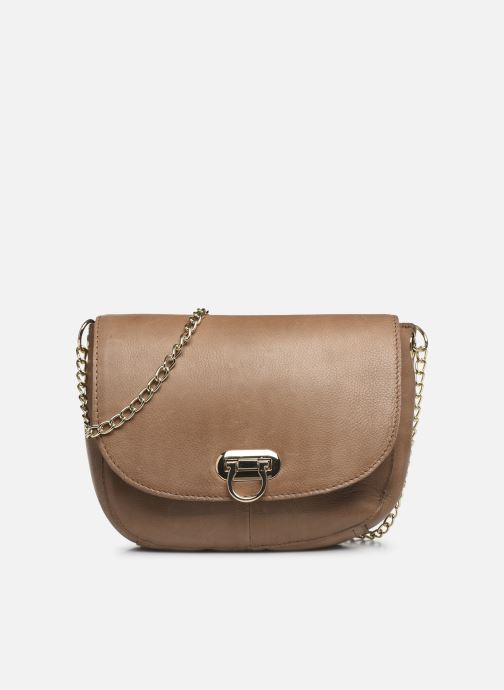 Borse Pieces NOMI LEATHER CROSS BODY Marrone vedi dettaglio/paio