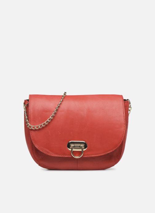 Handtaschen Pieces NOMI LEATHER CROSS BODY rot detaillierte ansicht/modell