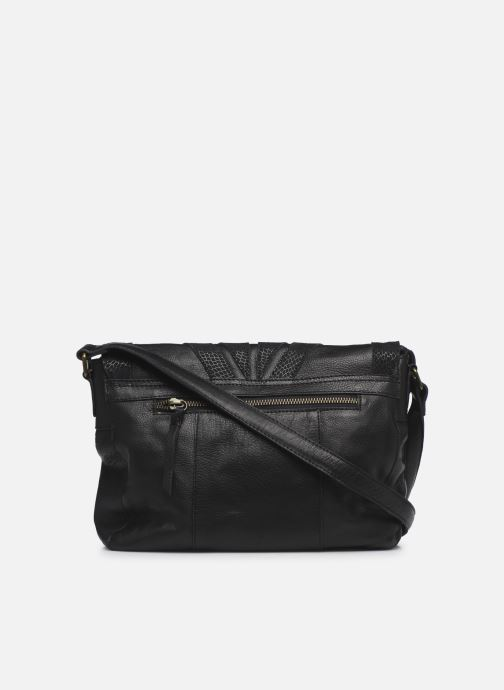 Sacs à main Pieces NELLI LEATHER CROSS BODY Noir vue face