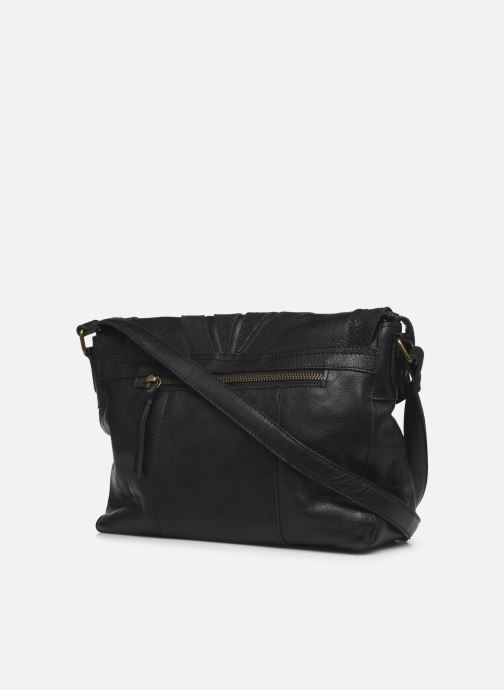 Sacs à main Pieces NELLI LEATHER CROSS BODY Noir vue droite