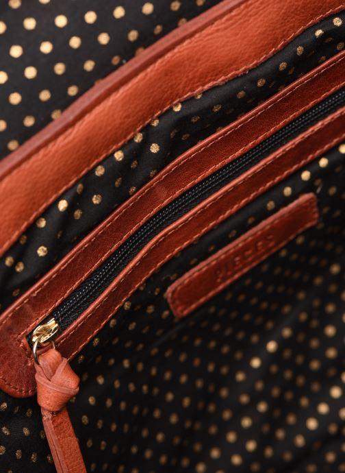 Handtassen Pieces NUKA SUEDE CROSS BODY Rood achterkant