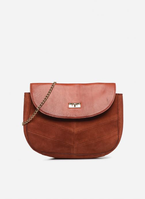 Handtassen Pieces NUKA SUEDE CROSS BODY Rood detail
