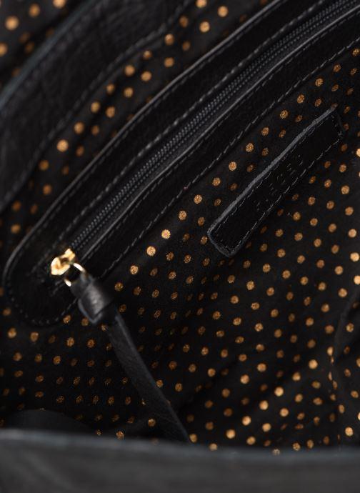 Handbags Pieces NUKA SUEDE CROSS BODY Black back view