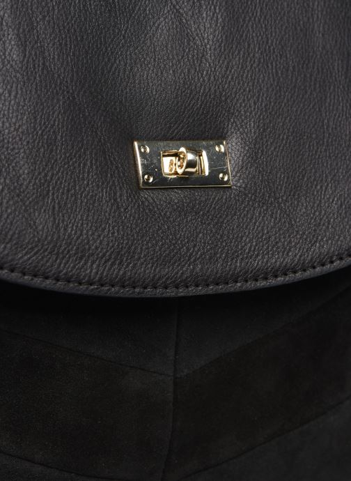 Handbags Pieces NUKA SUEDE CROSS BODY Black view from the left