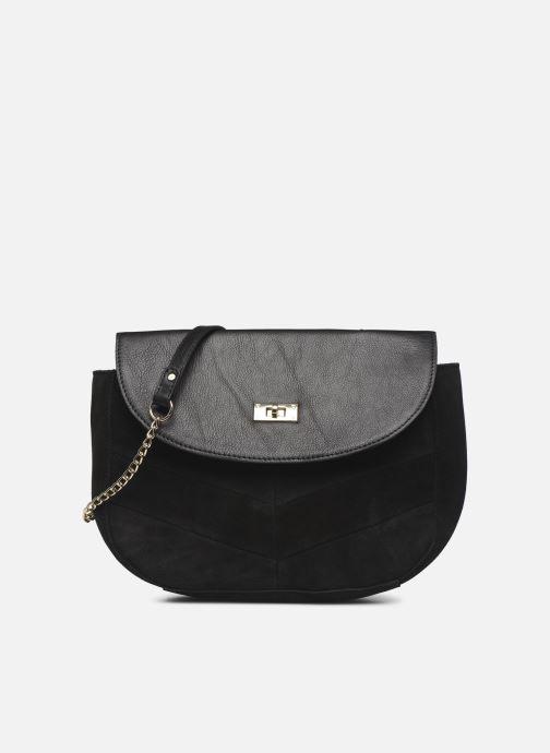 Handbags Pieces NUKA SUEDE CROSS BODY Black detailed view/ Pair view