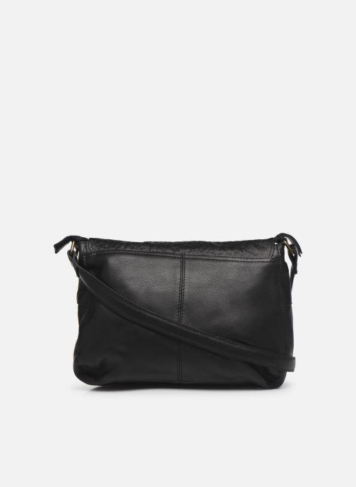 Handbags Pieces NIKKIE LEATHER CROSS BODY Black front view