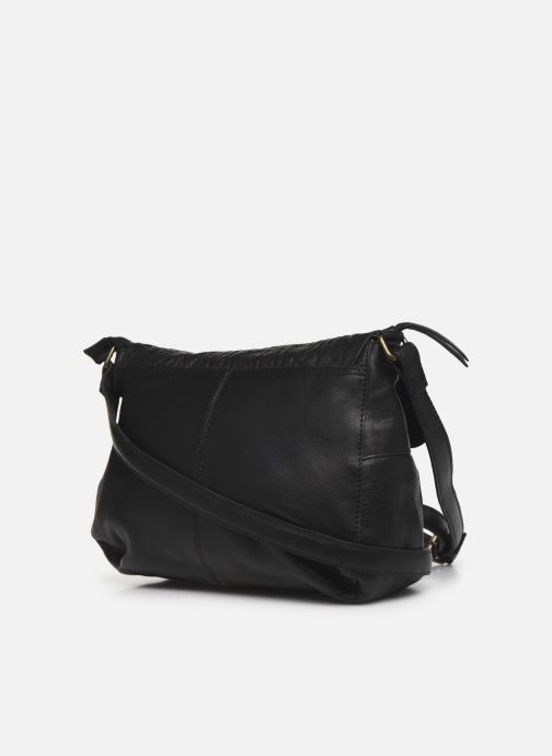 Handbags Pieces NIKKIE LEATHER CROSS BODY Black view from the right