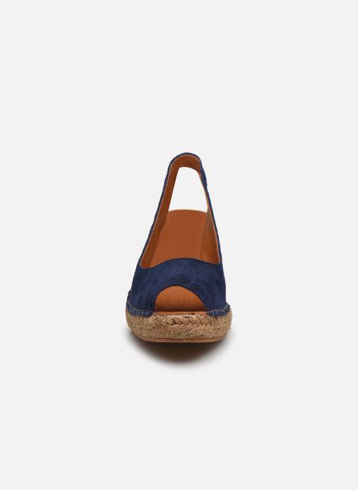 Espadrilles Georgia Rose Caminia Bleu vue portées chaussures