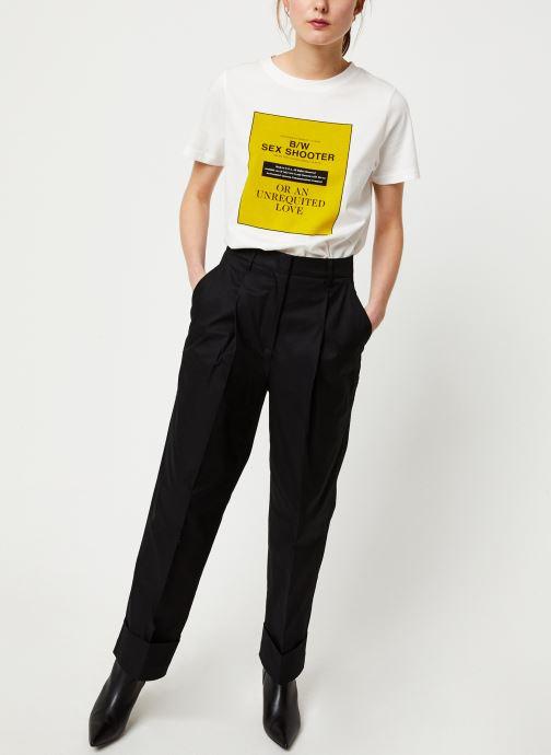 Kleding Essentiel Antwerp Pantalon VIBEZ Zwart onder
