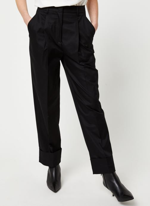 Kleding Essentiel Antwerp Pantalon VIBEZ Zwart detail
