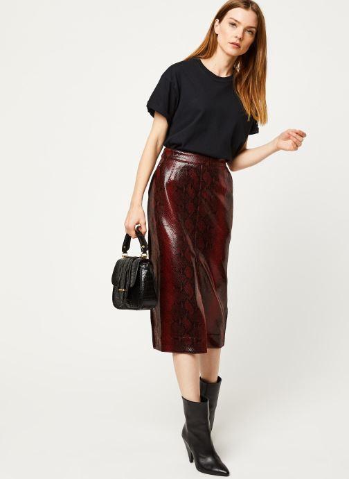 Vêtements Essentiel Antwerp Jupe VOLD Rouge vue bas / vue portée sac