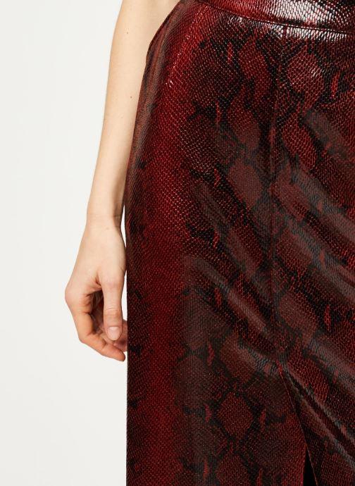 Vêtements Essentiel Antwerp Jupe VOLD Rouge vue face
