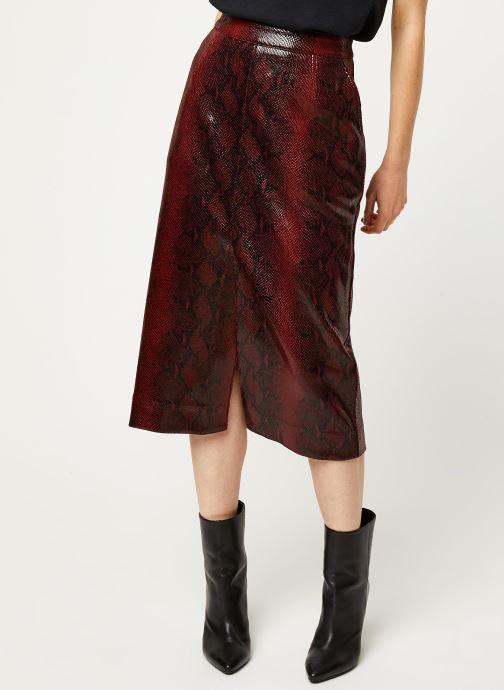 Vêtements Essentiel Antwerp Jupe VOLD Rouge vue détail/paire