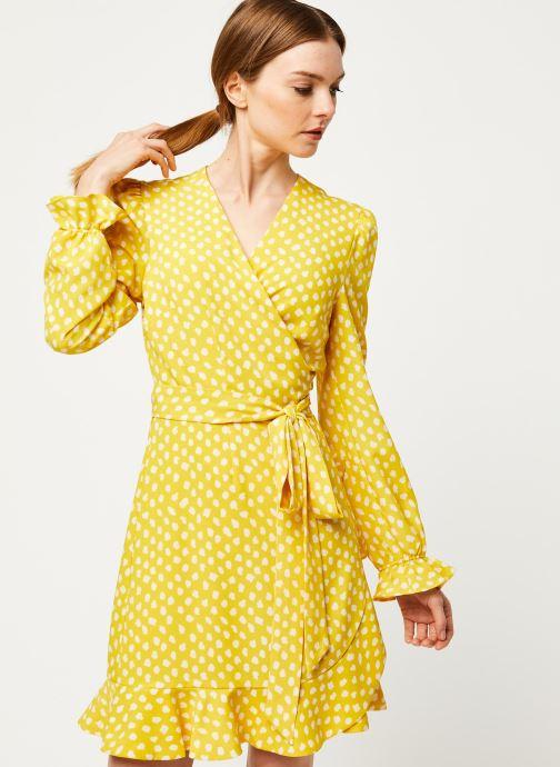 Vêtements Essentiel Antwerp Robe VODOLFO Jaune vue détail/paire