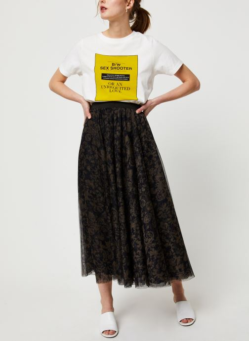 Vêtements Essentiel Antwerp Jupe VROOMVROOM Noir vue bas / vue portée sac
