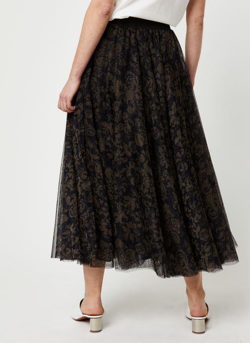 Vêtements Essentiel Antwerp Jupe VROOMVROOM Noir vue portées chaussures