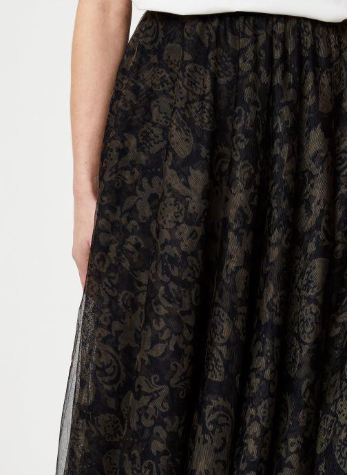 Vêtements Essentiel Antwerp Jupe VROOMVROOM Noir vue face