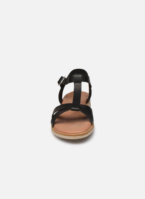 Sandales et nu-pieds Georgia Rose Soft Diandra Noir vue portées chaussures