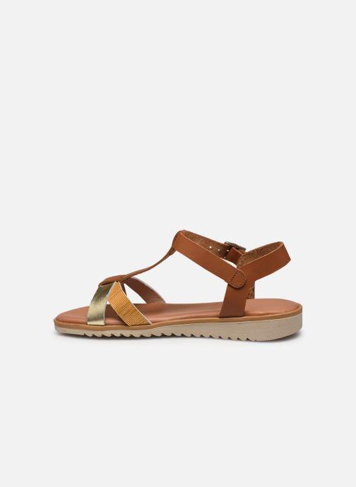 Sandales et nu-pieds Georgia Rose Soft Diandra Marron vue face