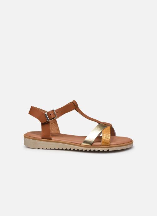 Sandales et nu-pieds Georgia Rose Soft Diandra Marron vue derrière