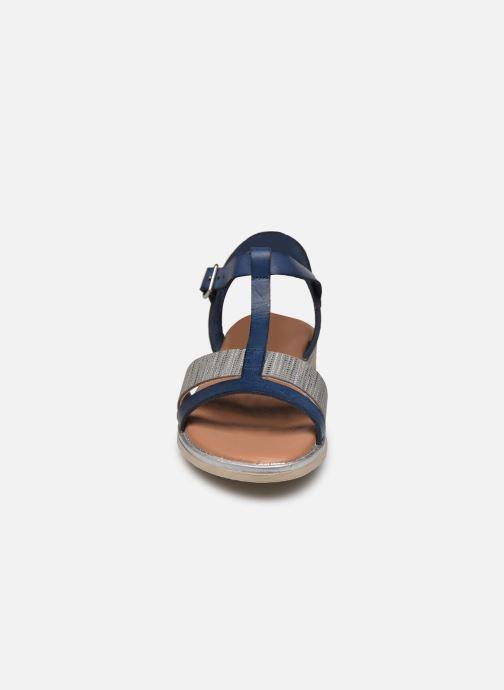 Sandales et nu-pieds Georgia Rose Soft Dolino Bleu vue portées chaussures