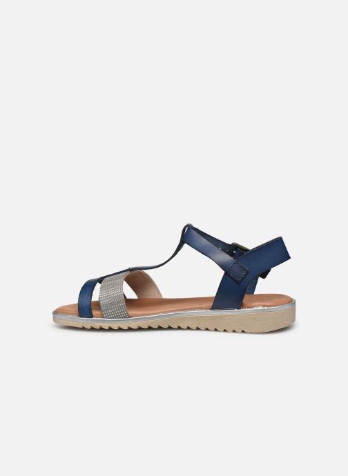 Sandales et nu-pieds Georgia Rose Soft Dolino Bleu vue face