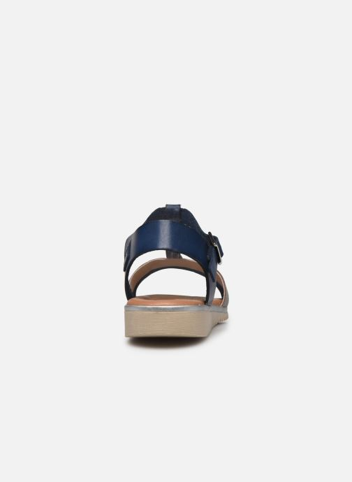 Sandales et nu-pieds Georgia Rose Soft Dolino Bleu vue droite