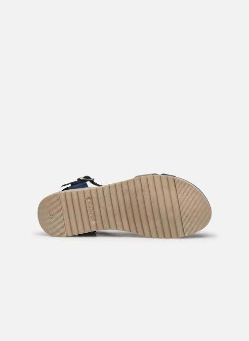 Sandales et nu-pieds Georgia Rose Soft Dolino Bleu vue haut