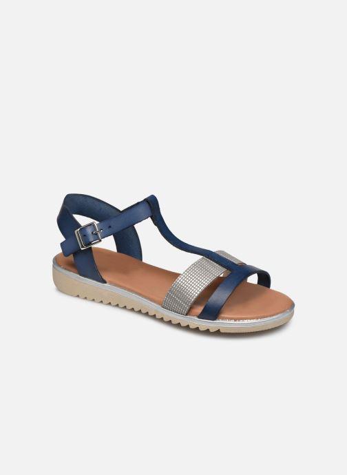 Sandales et nu-pieds Georgia Rose Soft Dolino Bleu vue détail/paire