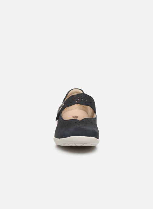 Ballerines Remonte Diona Bleu vue portées chaussures