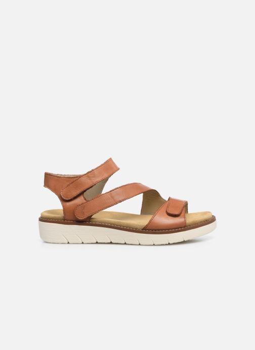 Sandales et nu-pieds Remonte Ovidiu Marron vue derrière