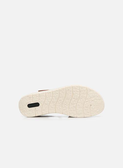 Sandales et nu-pieds Remonte Ovidiu Marron vue haut
