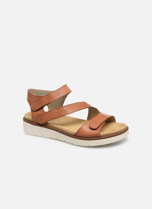 Remonte Ovidiu (Marron) Sandales et nu pieds chez Sarenza