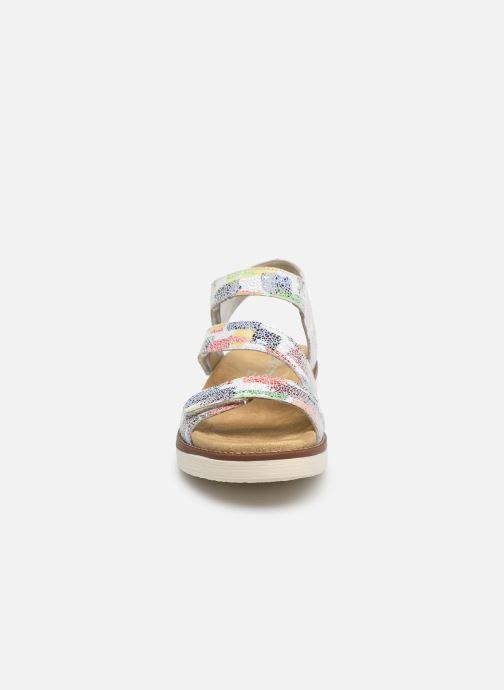 Sandales et nu-pieds Remonte Ovidiu Multicolore vue portées chaussures