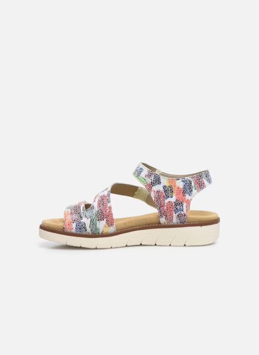 Sandales et nu-pieds Remonte Ovidiu Multicolore vue face