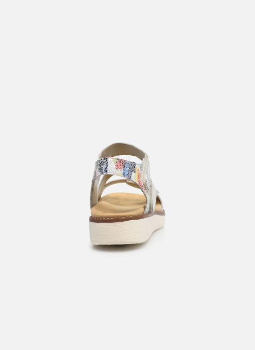 Sandales et nu-pieds Remonte Ovidiu Multicolore vue droite