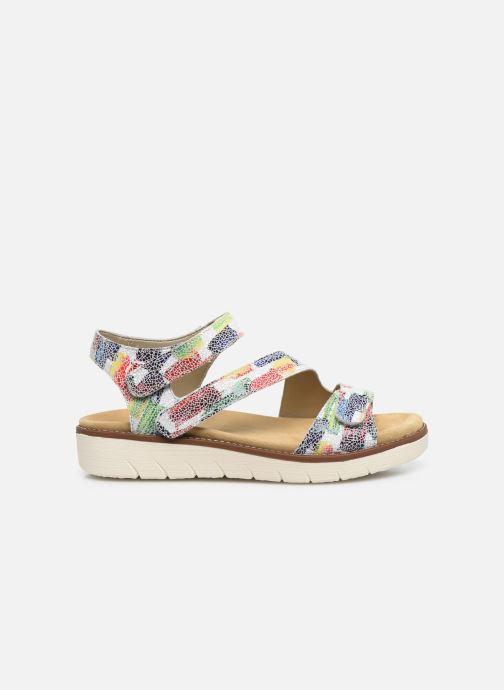Sandales et nu-pieds Remonte Ovidiu Multicolore vue derrière