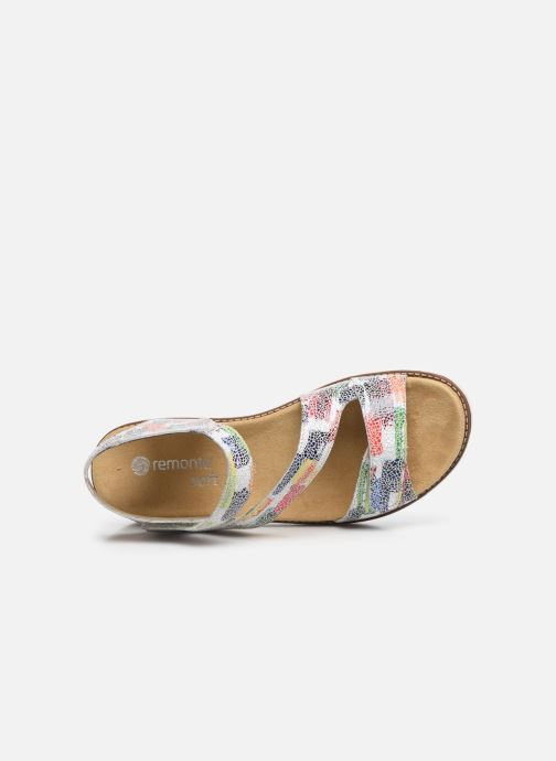 Sandales et nu-pieds Remonte Ovidiu Multicolore vue gauche