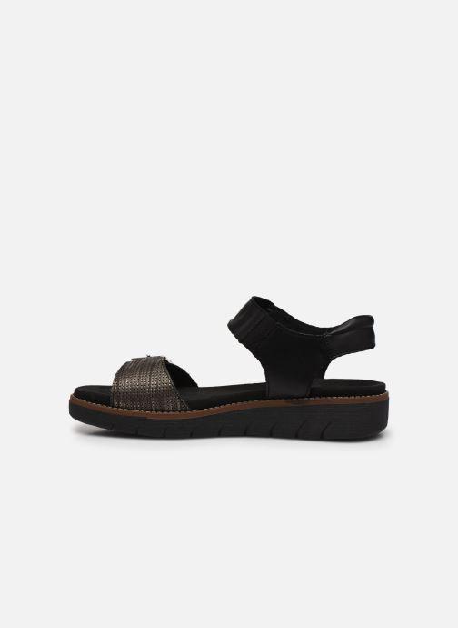 Sandales et nu-pieds Remonte Fane Noir vue face