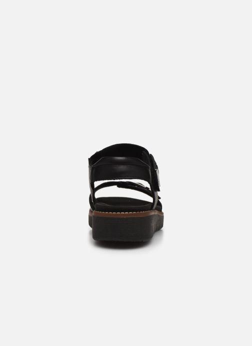 Sandales et nu-pieds Remonte Fane Noir vue droite